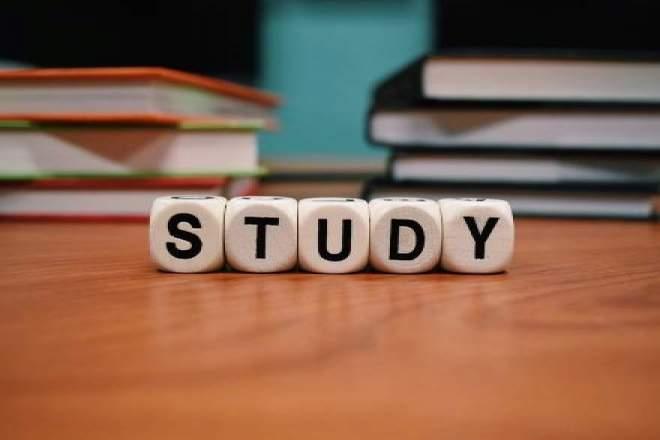 勉強の文字