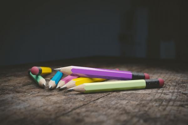 複数の鉛筆の写真