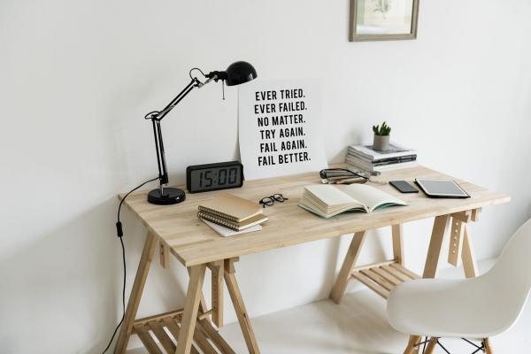 勉強する机