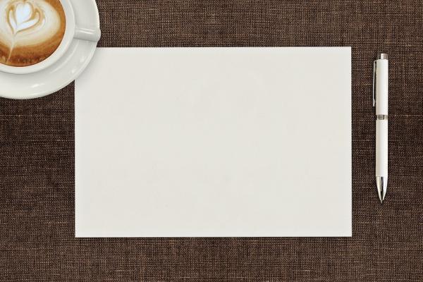 白紙の用紙