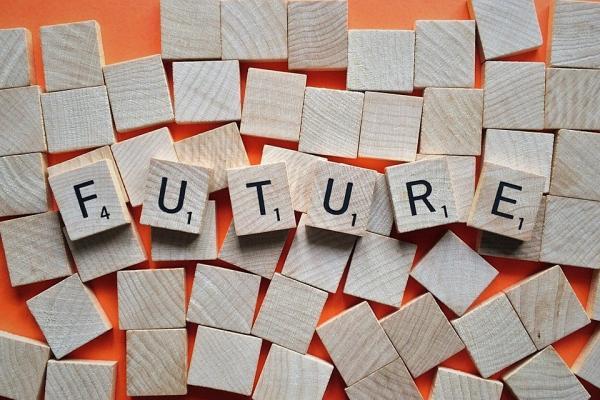 FUTUREの文字