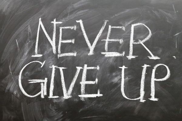 「NEVER GIVE UP」のイメージ