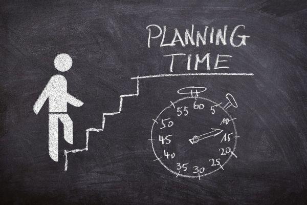 時間の計画のイメージ