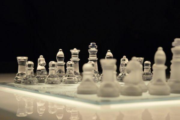 チェスの様子