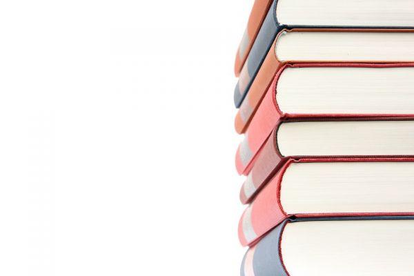 積み重ね挙げた本