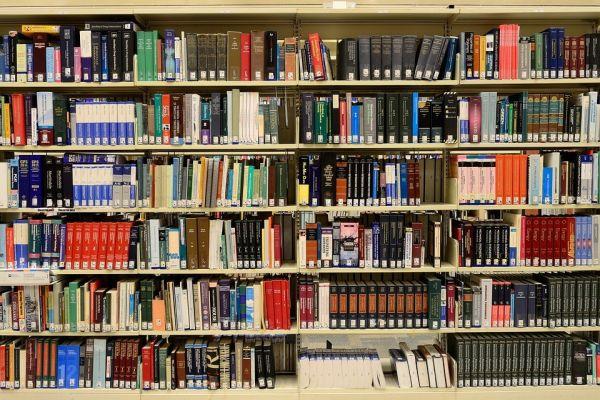 壁一面の本
