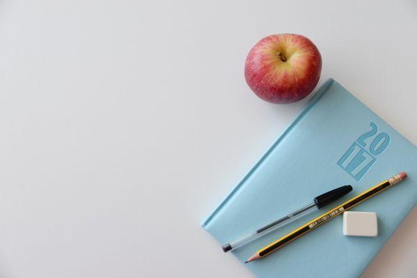 ノートと林檎