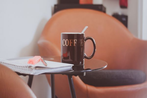 コーヒーでも飲みながら