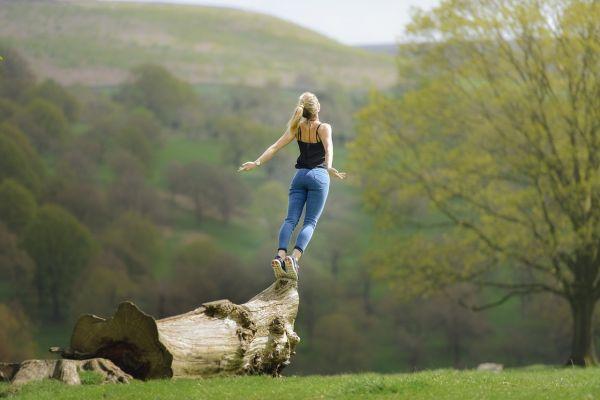 大自然と女性