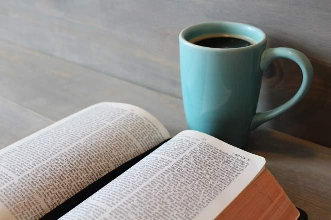 コーヒーと参考書