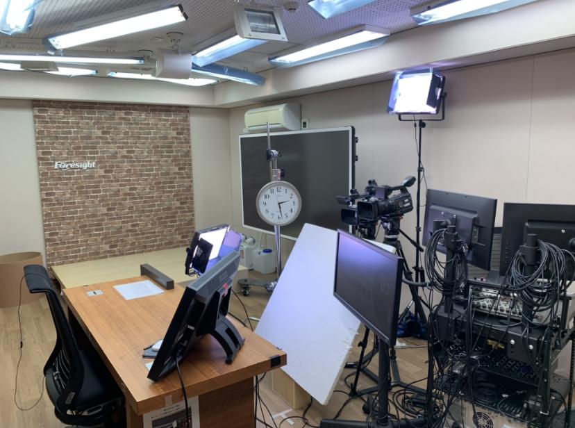 スタジオの風景